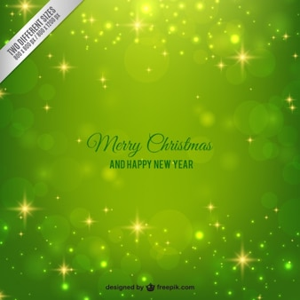 Bright green christmas background