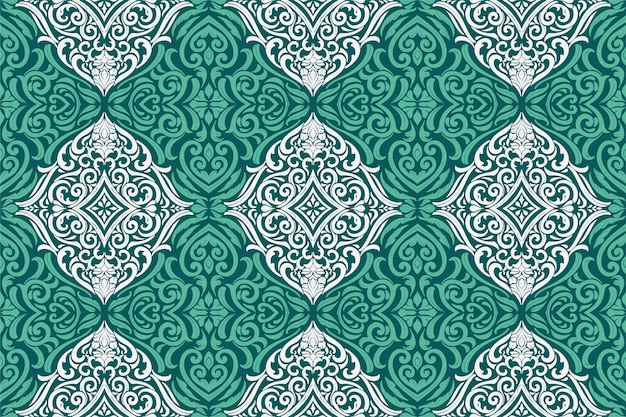 Bright green seamless pattern