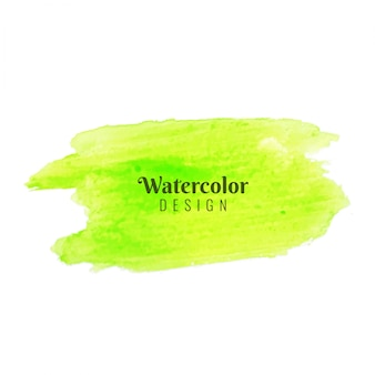 Абстрактные современные зеленые акварель окраски дизайн