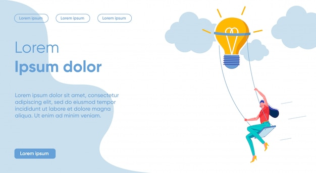 Bright illustration game includes imagination.