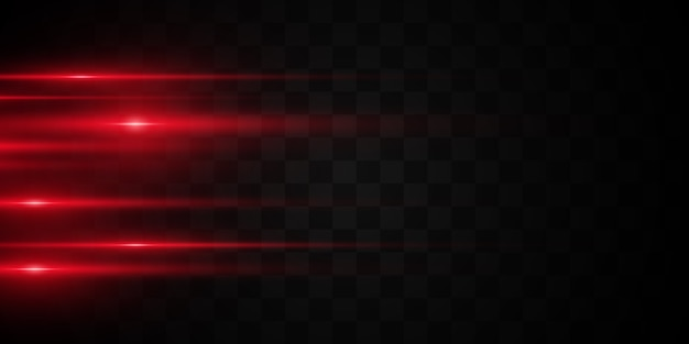Яркие линии на темном фоне. лазерные лучи светят. яркие полосы на темном фоне.
