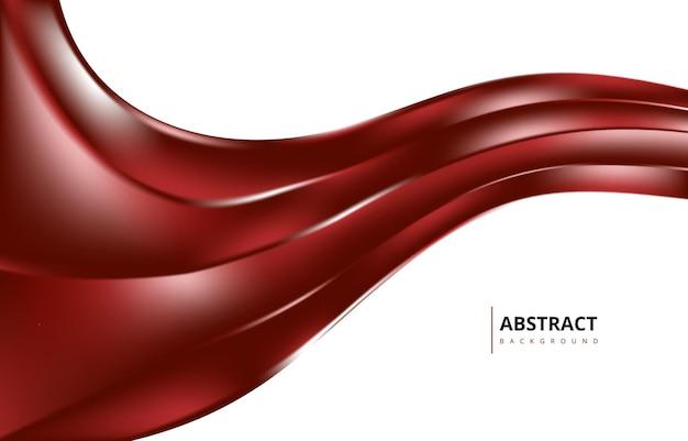 Яркие бордовые абстрактные современные волны градиент текстуры фона обои графический дизайн