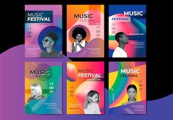 Яркий музыкальный плакат