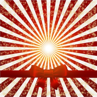 Bright paper snowflake shine background