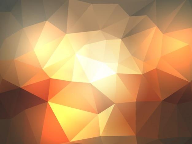 밝은 다각형 배경