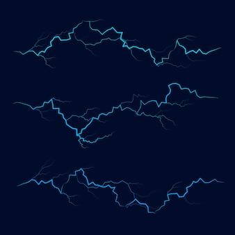 ブライトパワー電気ストライク Premiumベクター