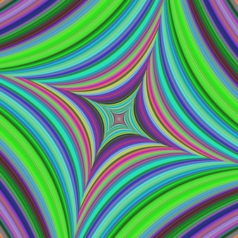 Bright psychedelic background