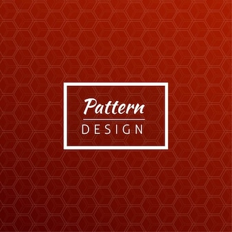 Bright red geometric pattern Free Vector