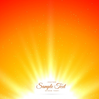 Bright shiny sunburst background