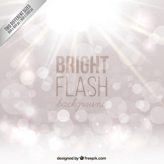 Bright silver bokeh background
