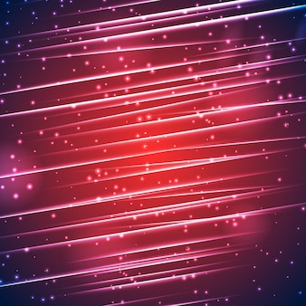 Bright sparkling abstract background with straight beams glowing and light effects