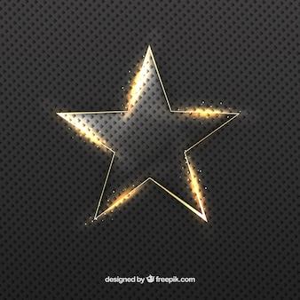 明るい星の背景