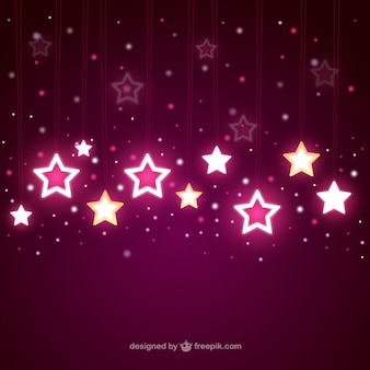 떨어지는 밝은 별