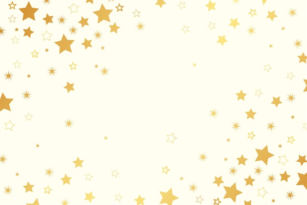Bright stars flat background