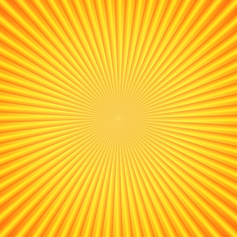 The bright sun rays. orange color. element for your design. bright template. vector illustration.