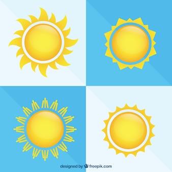 Яркие солнца