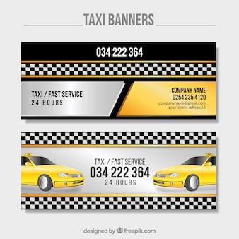 Banner luminosi taxi