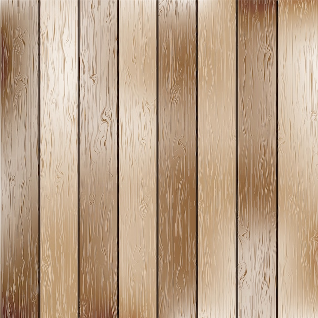 Bright wooden texture