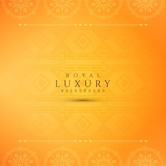Bright yellow luxury elegant background