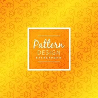 明るい黄色のパターン設計