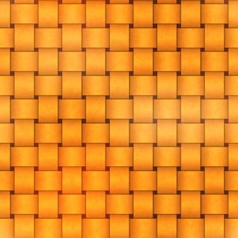 Bright yellow sennit pattern