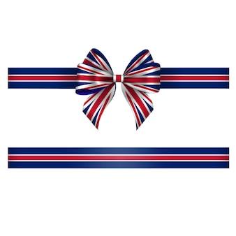 British bow and ribbon