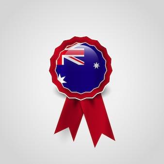 Дизайн британского флага с векторным значком