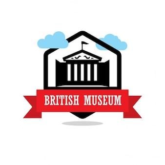 Etichetta british museum ribbon