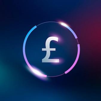 British pound icon money currency symbol