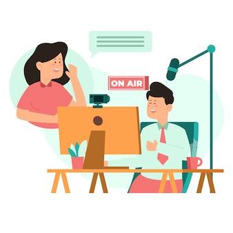 방송 라이브 이벤트 개념