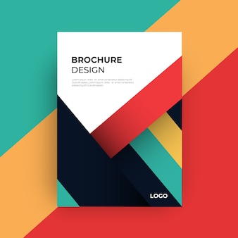 Brochure abstract background