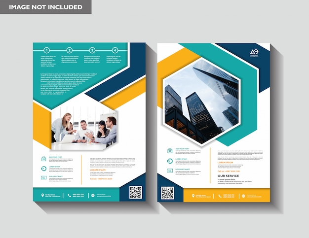Brochure annual report magazine poster corporate presentation