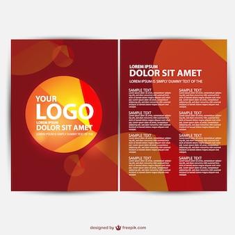 Brochure background free