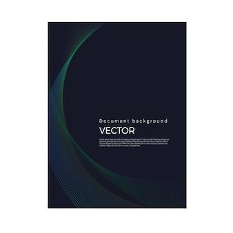 Brochure background of luxury lines