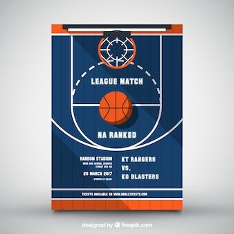 Brochure basketball court plan