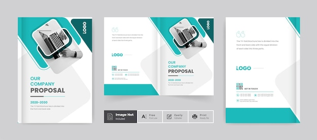 Brochure design cover template company profile annual report page corporate business layout