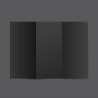 パンフレットデザインテンプレートモックアップベクター