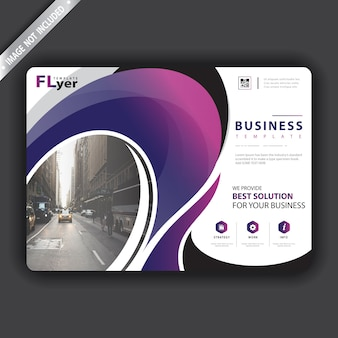 Brochure presentation template