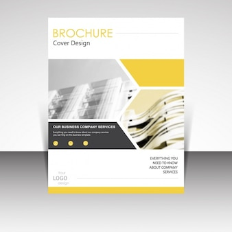 Брошюра дизайн шаблона