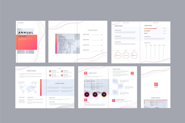 Brochure template layout pack