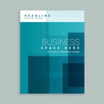 Commercio copertura brochure modello di pagina