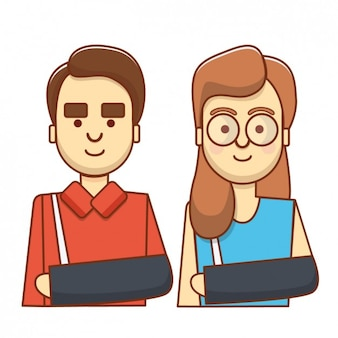 Broken arm avatars