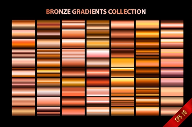 Bronze gradients collection