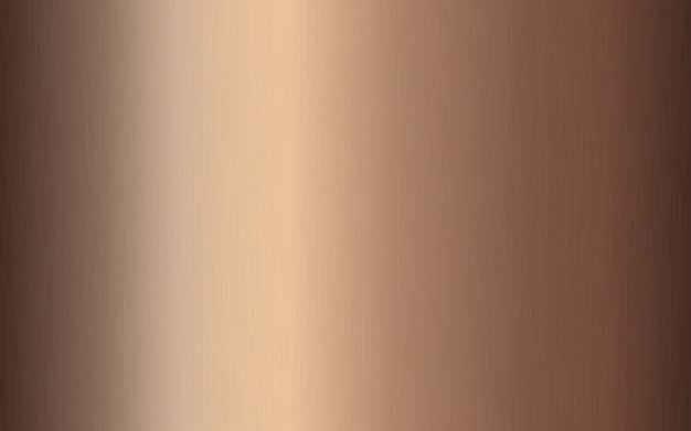 Бронзовый металлический градиент с царапинами. эффект текстуры поверхности бронзовой фольги.