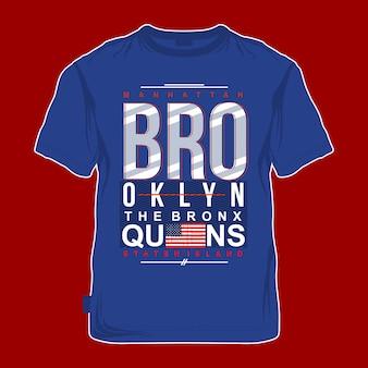 Brooklyn graphic apparel modern design