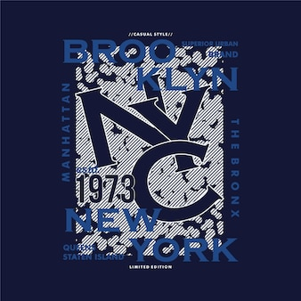 ブルックリンニューヨーク抽象フラット