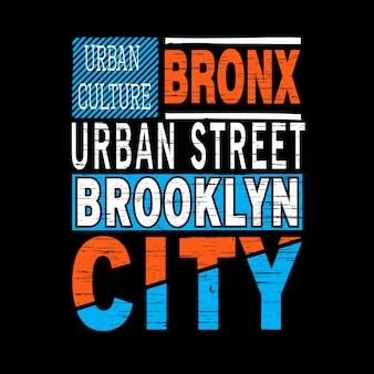 Brooklyn typographic