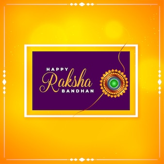 Brother and sister raksha bandhan festival background