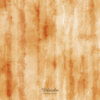Brown abstract watercolor texture background