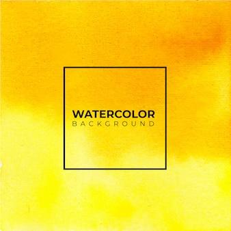 Коричневый и желтый абстрактный и желтый акварельный фон.